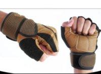 Тренажерный зал корпус здания подготовки фитнес перчатки спортивное оборудование тяжело поднятие тренировки тренировки дышащие спортивные перчатки PS0472