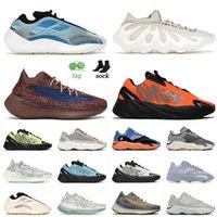 2021 وصول رياضي 700 حذاء جري مقاس 12 Azareth 380 450 سحابة أبيض برتقالي أزور شعلة العنبر أحذية رياضية للرجال والنساء