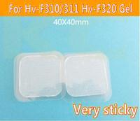 60 unids Hoja de gel conductora de reemplazo para OMRON Professional Pulse Low-Freq Therapy HV-F310 / 311 HV-F320 HV-PAD