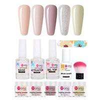 Nail Polish Kits Infiltrating Powder Moisturizing UV Glue Na...