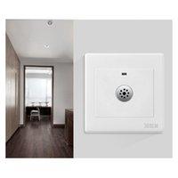 スマートホームコントロールライトスイッチモジュール検出器220V 10WオートスイッチE6サウンドボイスセンサーのためのバスルームの階段