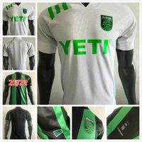 Versión del jugador 2021 2022 Cecilio Austin FC Jerseys de fútbol Kit de la casa Besler Black Green 21 22 Camisetas de fútbol Camisetas Fútbol Maillot de Foot