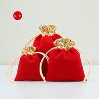 Pouches, JewelryPouches Упаковка Дисплей быстрые Прекрасные Ювелирные Изделия Изысканные Фланалевые Подарочные Сумки Ожерелье Браслеты Кольца Drop Доставка 2021 CUTPP