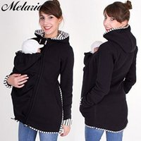 Melario Maternity Coats Winter Jacket For Pregnant Women Outerwear Long Sleeve Bring Children outfits Clothing Jackets 210412