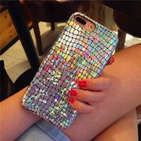 Colorful Laser Shining Crocodile Texture Cases For iphone 13 7 6 6s Plus Snake PU Leather Cover For iphone 13 X 8 Plus XR XS Max