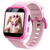 Детские умные часы малыша HD двойной камеры многофункциональный сенсорный экран SmartWatch с игровыми игрушками USB зарядные подарки на день рождения для мальчиков и девочек