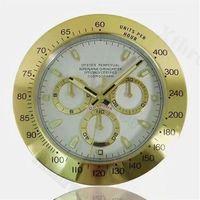 Relógios de parede Nordic Grande Relógio de Luxo Metal Luminosa Rosa Ouro Moderno CLCOKS HOME Decor 3D Relógio Orologio Da Parete Presente L029