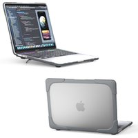 الثقيلة ذات الطبقة المزدوجة ماتي الناعمة الحالات التي تعمل باللمس الصلب مع tpu الوفير الجديد 2020 macbook air 13 inch pro 13 air 11 itina 13 شبكية العين 15 برو 16 touch bar etina-12