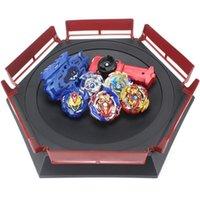 Yeni TOUMIE BEYBLADE SET B149 B150 ARENA Metal Fusion Arena Lanceur Bayklatan Beyblade Patlama Launcher Kids Bey Bıçak Bıçakları 201217