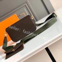 Persone 2021 SS Fashion Donne Delle Donne Spalla Shopping Bag Sacchetti da sella di alta Qualità Borse a sella Lady Cross Body Borse Body Body Designer Designer Designer Ladies Borse a due pezzi