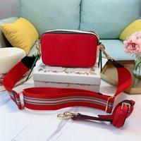 مصمم المرأة حقائب الكتف سيدة حقيبة يد الشهيرة الكلاسيكية مصغرة لقطة حقيبة كاميرا صغيرة حقيبة crossbody المحافظ اثنين من الأشرطة الكتف مع مربع