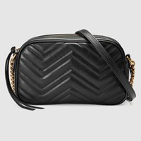 2020 Högkvalitativa Kvinnor Handväskor Guldkedja Crossbody Soho Bag Disco Nyaste Style Mest populära Handväskor Feminina Small Bag Wallet 21cm
