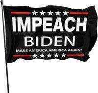 Флаг импрессы Байден делает Америку Америку вновь флагом с латунными втулками патриотическое открытое помещение для внутреннего украшения баннер