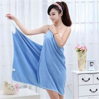 ING ING MICROFIBER S комнат Домашний текстильный абсорбирующий душ Женщины одежда для ванны Носимый набор полотенца