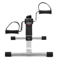 Indoor Exercise Folding Fitness Pedal Stepper Exercise Machine LCD Display Indoor Cycling Bike Stepper