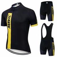 Eşofmanlar Yeni Mavic 2021 Pro Takım Giyim / Yol Bisikleti Giyim Yarış Giysileri Hızlı Kuru Erkek Bisiklet Jersey Seti Ropa Ciclismo Maillot