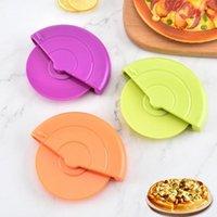 Pişirme Pasta Araçları İşçi Tasarrufu Anti-haddeleme Hamur Kesici Plastik Pizza Kazıyıcı Tekerlek Rulo Mutfak Gadget Aksesuarları