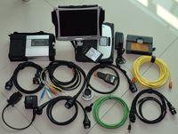 Outil de diagnostic 2in1 pour BMW ICOM A2 et SD Connect MB STAR C5 avec CF19 Ordinateur portable I5 4G Toughbook