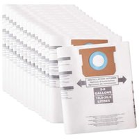 Pack Type E Replacement Vacuum Filter Bags For Shop Vac 5-8 Gallon Replaces Part 90661 906-61 9066100 Cleaners