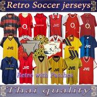 02 05 HENRY BERGKAMP V. PERSIE Mens RETRO Patches Soccer Jerseys 94 97 VIEIRA MERSON ADAMS Home Away 3rd Football Shirt Short Long Sleeve Uniforms