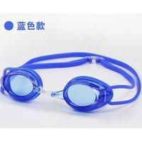 Adultos natação óculos de alta definição impermeável Antifogging Mergulho para homens e mulheres