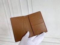 남자 캔버스 가죽 포켓 지갑 N60502 N63145 카드 홀더 유니섹스 패션 디자이너 짧은 동전 지갑 키 파우치 N63143 M61696