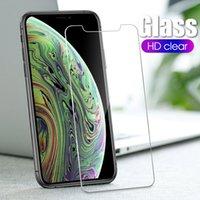 2.5D 9H Temperli Cam Ekran Koruyucu iphone 12 Mini 11 Pro Max XR XS X 6 7 8 artı 0.3mm