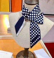 Bufanda clásica elegante diadema de mano bolsas bufandas de seda bufandas letra diseño animal para hombre mujeres 7 opciones de alta calidad