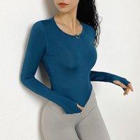 Factory T Fitness Crops Tops Sports 2020 износ для женщин-тренажерный зал Спортивная рубашка с длинным рукавом Сексуальная сетка назад Бегущая блузка Йога
