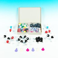 178 pcs | Molecular model | Organic and inorganic chemistry | Scientific Chemistry Atom Molecular Models Links Teaching Kit Set L-0002