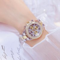 Relojes de pulsera Full Diamond Womens Watch Brands Fashion Carter Cartzo Dorado Oro Mujeres Resistente al agua Damas salvajes Relojes de pulsera
