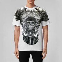 Men's T-Shirts BEAR PP Mens T Shirts The Mountain Native Patriot Skull AXE T-Shirt