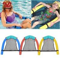 Schwimmstuhl auf Wasser Netztasche Float Swim Stick Kickeboards Tuch Abdeckung Erwachsene Kinder Schwimmer Auftrieb Bar Floating Rod Sportstöcke