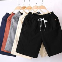 Men's Shorts MRMT 2021 Brand Casual Cotton And Linen Short Pants For Male Five Scanties Cent Breeches