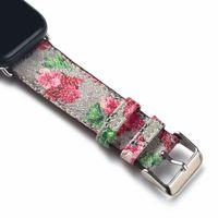 Moda Tasarımcısı Watchband Sapanlar Için İzle Serisi 1 2 3 4 5 6 Yüksek Kaliteli Deri Akıllı Bantlar Saatler Deluxe Bileklik Saatleri Saatler