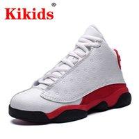 Chaussures d'enfant chaussures de basket rétro mode polyvalent enfant plus âgé de haut-top bas baskets fille fille extérieur extérieur cas de chaussures de sport garçon chaussures garçons q0729