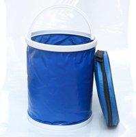 Car Organizer Travel Folding Bucket Bathroom Camping Supplies Portable Wash Bag For Regal Lacrosse SEAT Ibiza Leon