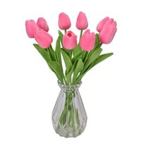2021 flower PU mini tulip artificial wedding decoration silk flower home artificials plant Fashion furnishing articles