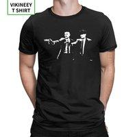 Peaky Blinds Pulp Fiction Mix T Shirt Man Mangas Curtas Tops Tee Clássico 100% Crewneck de Algodão T-S 210420