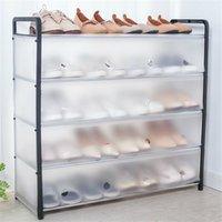 Многослойная стальная труба в сборе пылезащитный ботинок Простое хранение стойки домохозяйства 210922