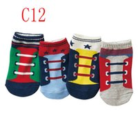 Infant Socks Crochet Baby Booties Ankle Girls Boys Cotton Accessories Autumn Winter Spring Cute Floor Shoes Cartoon B6229