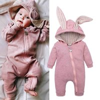 Winter Autumn Newborn Baby Romper Bunny Baby Clothes 1 Year ...