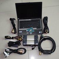 Диагностические инструменты MB Star Tool C3 Мультиплексор с 5 кабелями программного обеспечения HDD 2014.12V ноутбук D630 4G готов к работе