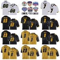 NCAA Missouri Tigers Football College 83 Kellen Winslow Jersey Man 9 Jeremy Maclin 8 Justin Smith 23 Roger Wehrli 7 Kelly Bryant 3 Drew Lock University Tutti cuciti