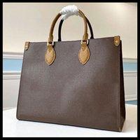2021 الأزياء OnThego M45653 M44576 المرأة الفضي المصممين أكياس حقائب جلد طبيعي رسول حقيبة crossbody الكتف حقيبة يد محفظة