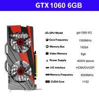 Оригинальная видеокарта RTX1060 6GB 256bit GDDR5 NVIDIA GeForce Графические плиты не 1660 2060 GPU 8G Компьютерная независимая игра Office Desktop