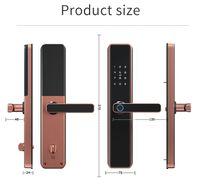Factory price,Smart Lock for Apartment,Homestay,Hotel etc, Wifi Fingerprint Password Code Card Tuya ttlock APP Remote Control Door, Wholesale price
