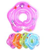 Детский бассейн поплавок малыш шеи кольцо надувные младенческие плавучие дети плавать бассейны трубы аксессуары круг купание PVC воздушный плот плода