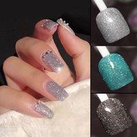 Nail Gel Diamond Glue Art Crystal Powder Polish Fine Flash Shimmer Shiny Bright Long Lasting Durable TSLM1