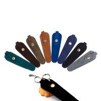 Hair Scissors Barber Packet Scissor Cover Shears Holster Hairdressing Bag Professional Cowhide Sheath Leather Case
